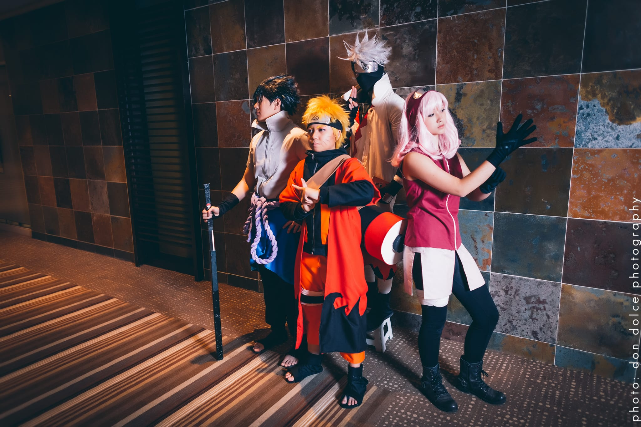 Naruto cosplay photoshoot