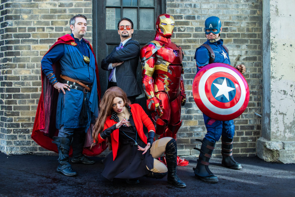 Marvel Cosplay (cosplay ideas for groups)