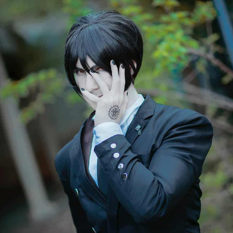 Sebastian (Black Butler) by Galactic Reptile Cosplay. Photo taken by Tensai Photography.