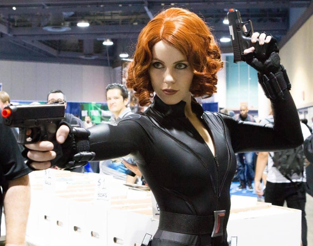 Black Widow - Marvel cosplay ideas