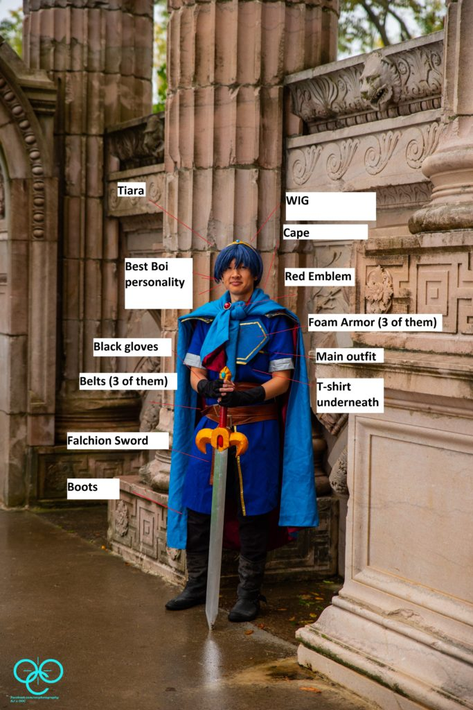Marth packing convention packing list