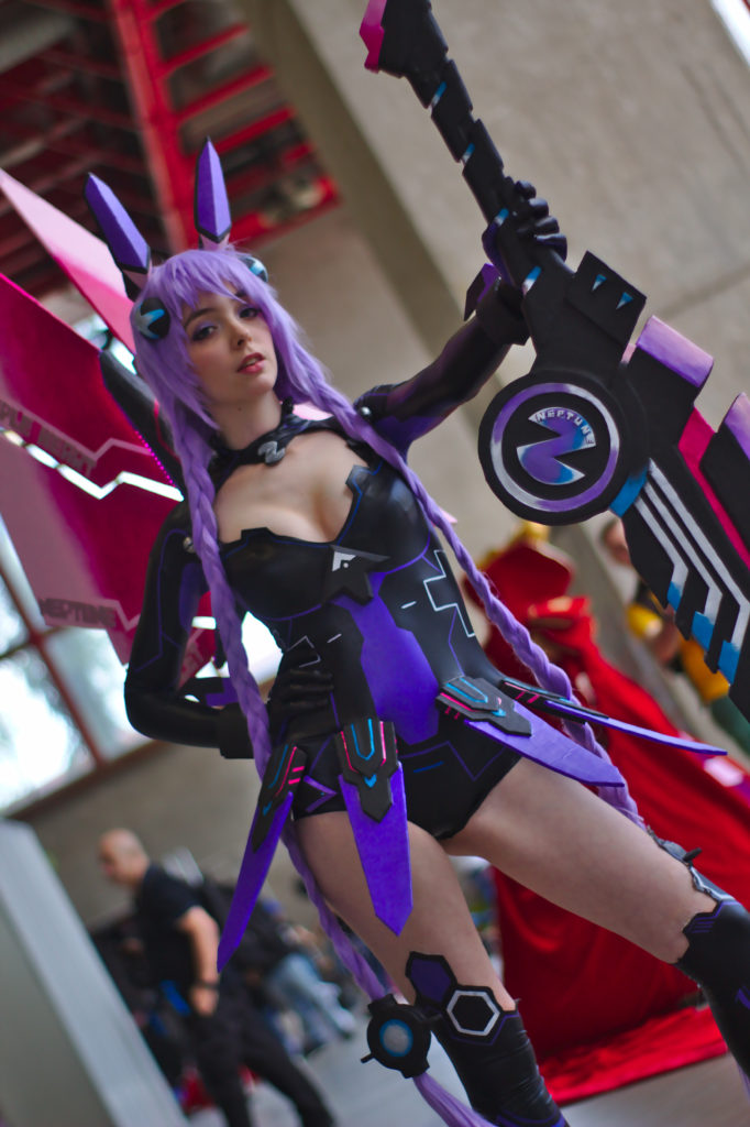 Purple Heart/Neptune from Hyperdimension Neptunia