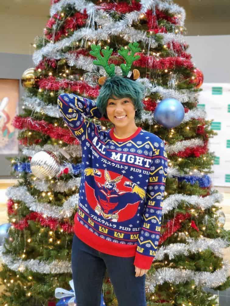 Christmas Sweater cosplay