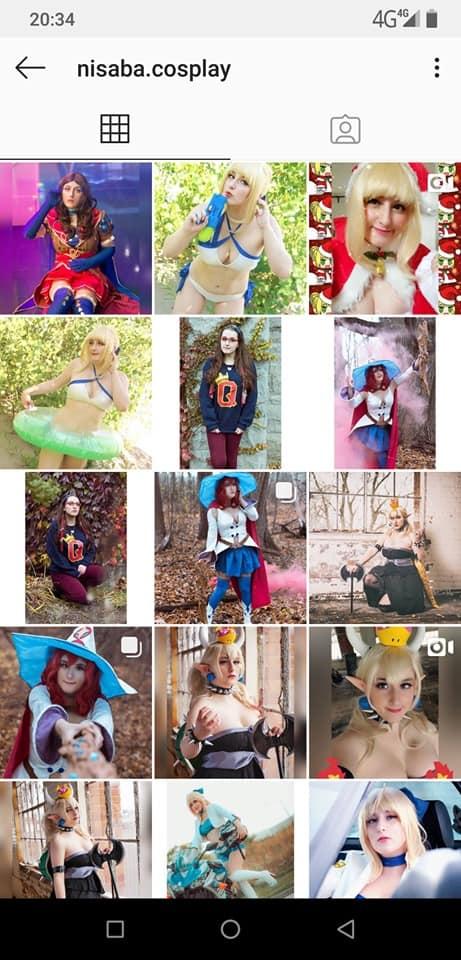 Nisaba cosplay (is cosplay too expensive)