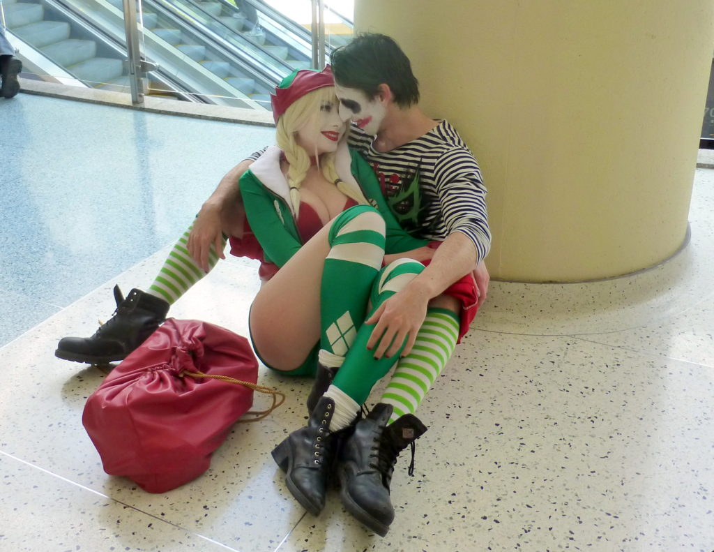 Harley Quinn and Joker (cosplay ideas for couples)