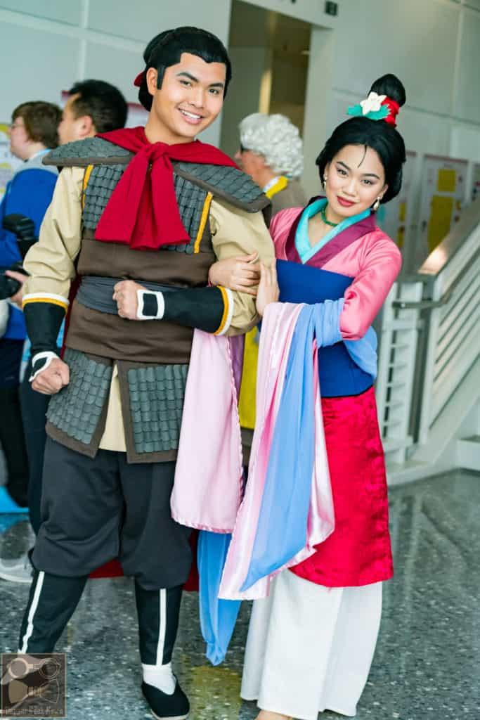 Mulan Cosplay (Disney cosplay ideas)