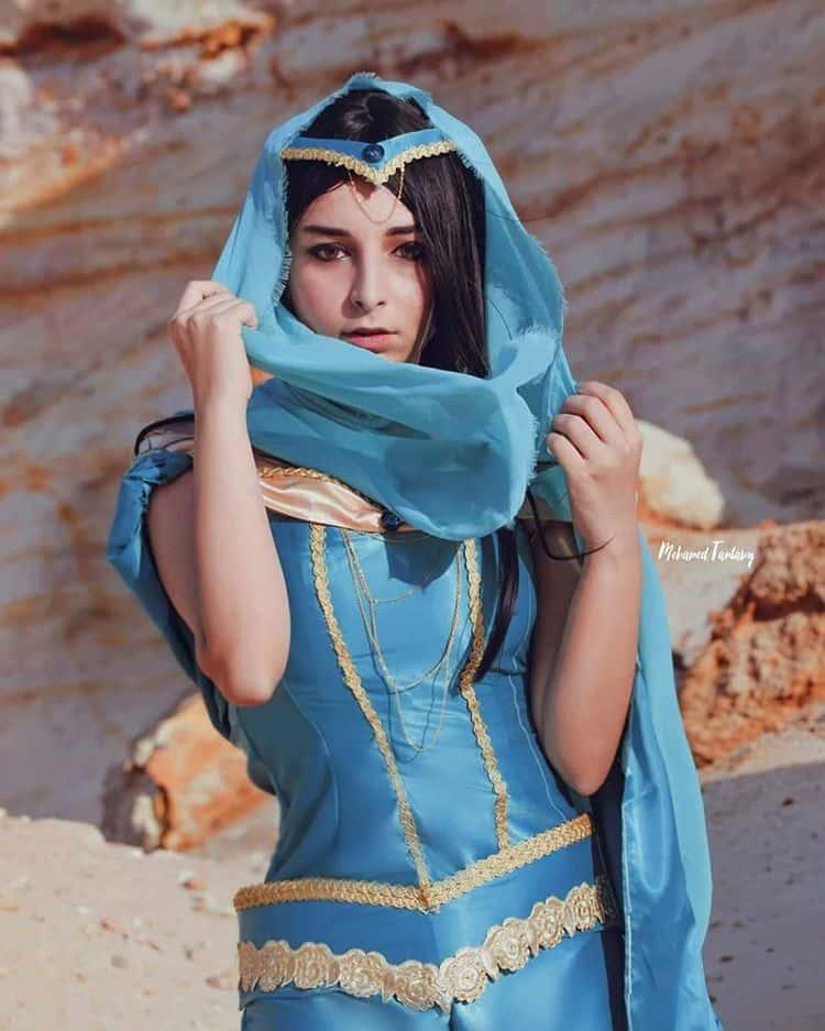Jasmine Cosplay (Pikachan Cosplay)