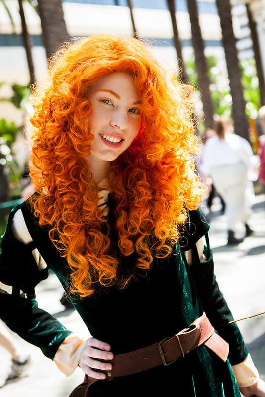 Merida Cosplay (Disney cosplay ideas)