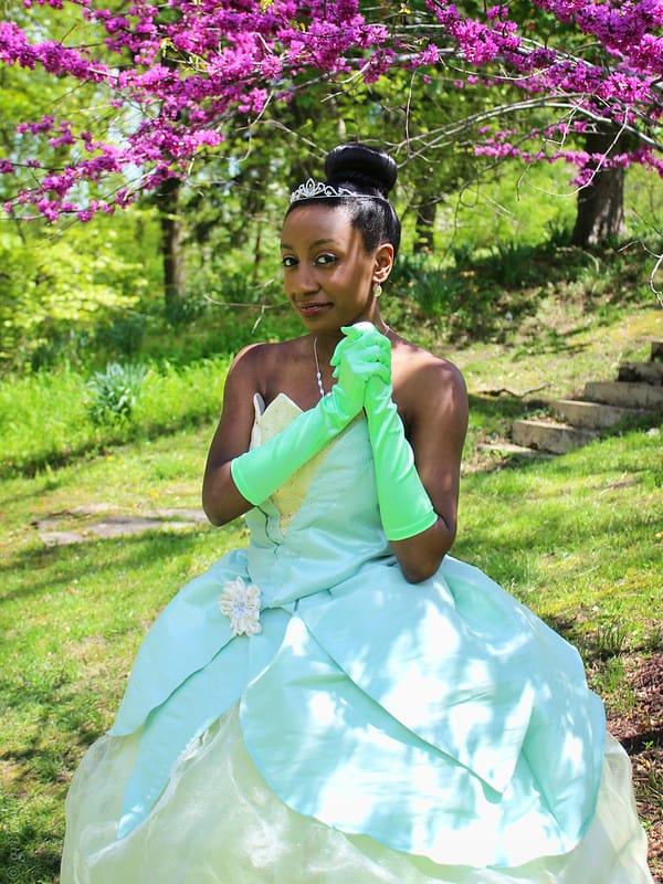 Princess Tiana cosplay