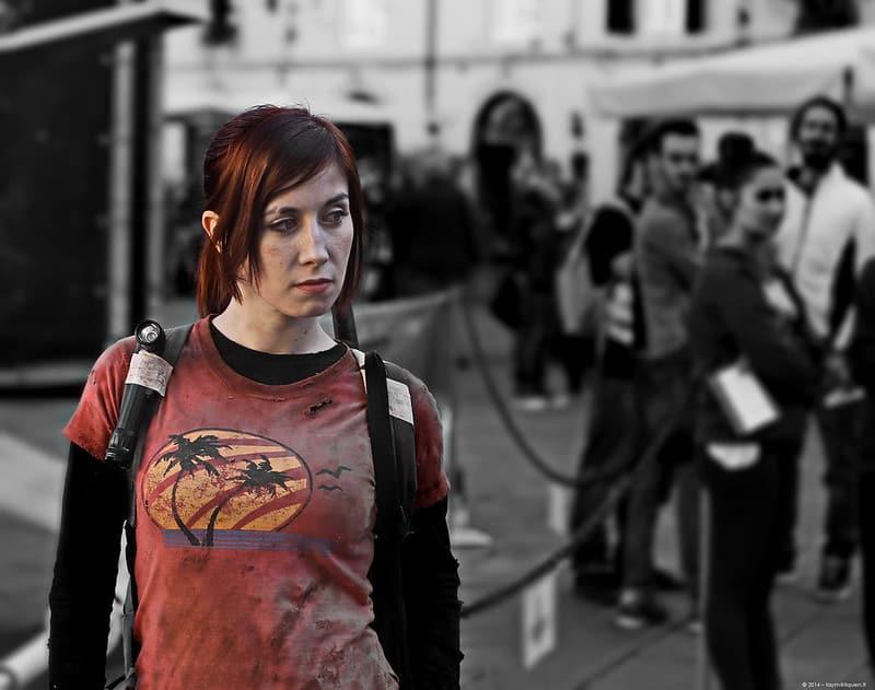 Ellie Last Of Us (cosplay lesbian)