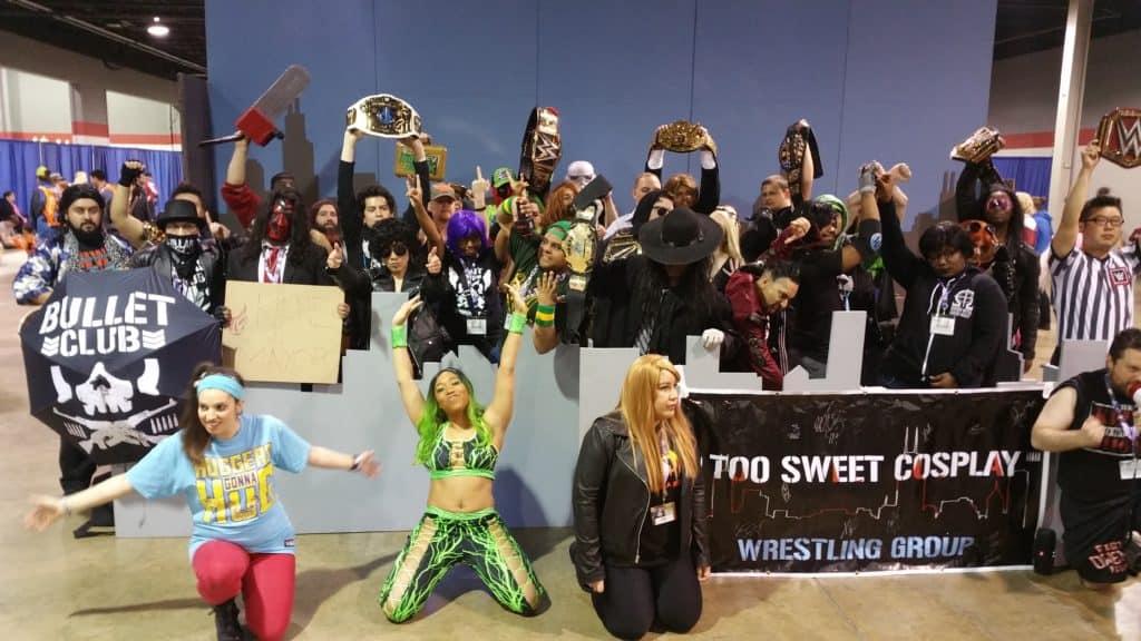 Wrestling cosplay