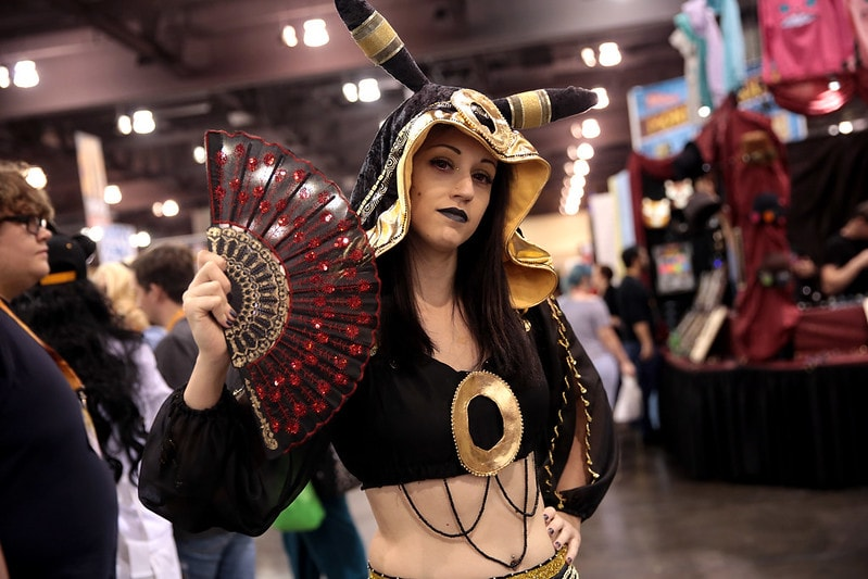 Umbreon cosplay