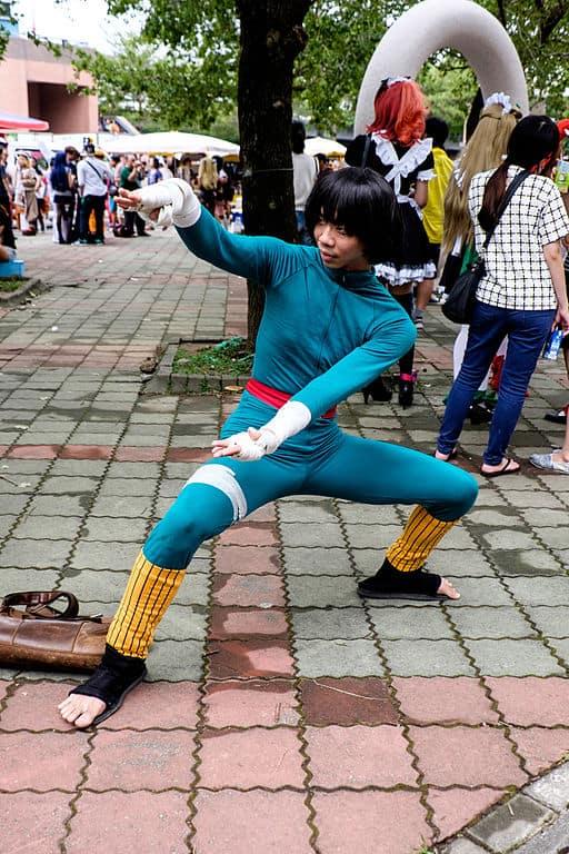 Rock Lee cosplay