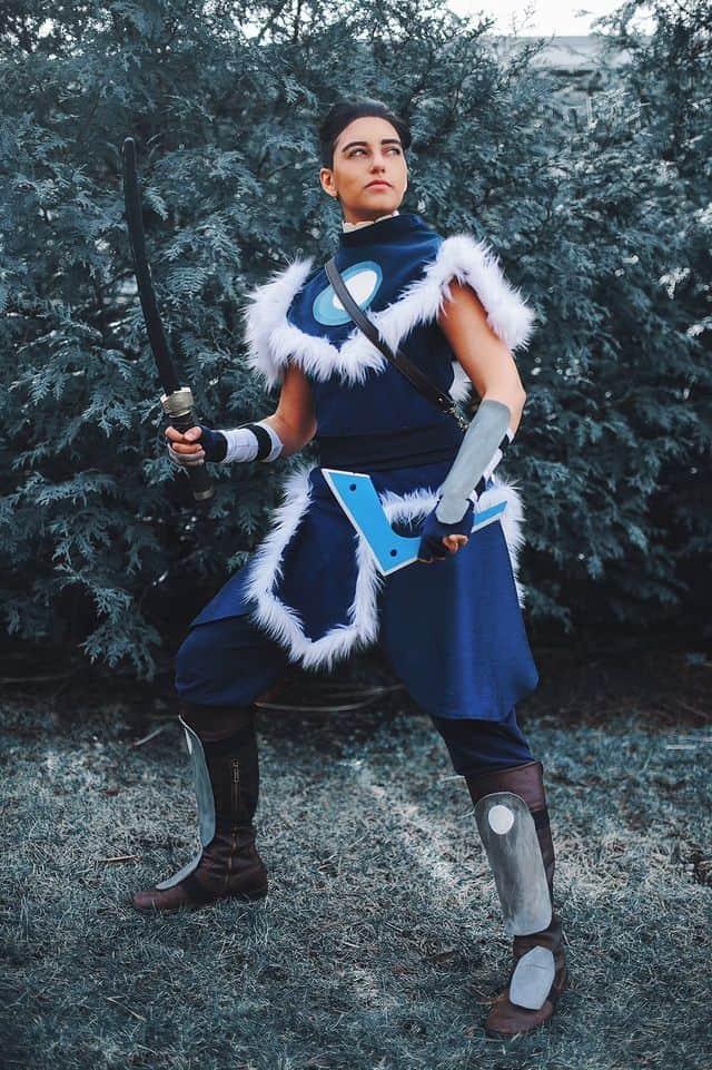 Sokka Avatar cosplay