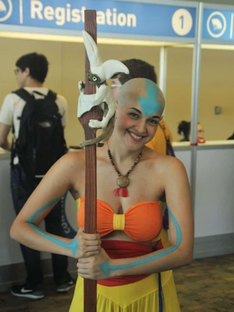 Aang Avatar cosplay