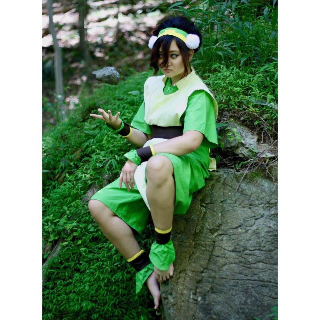 Toph cosplay