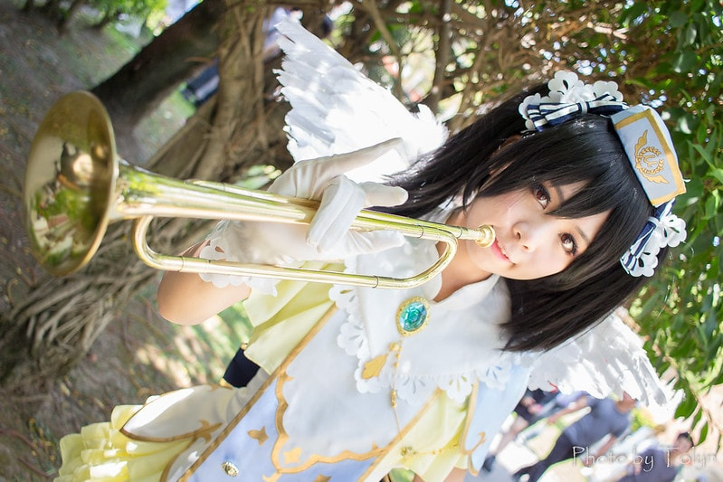 Nico (black hair cosplay)