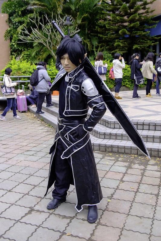 Kirito (black hair cosplay)