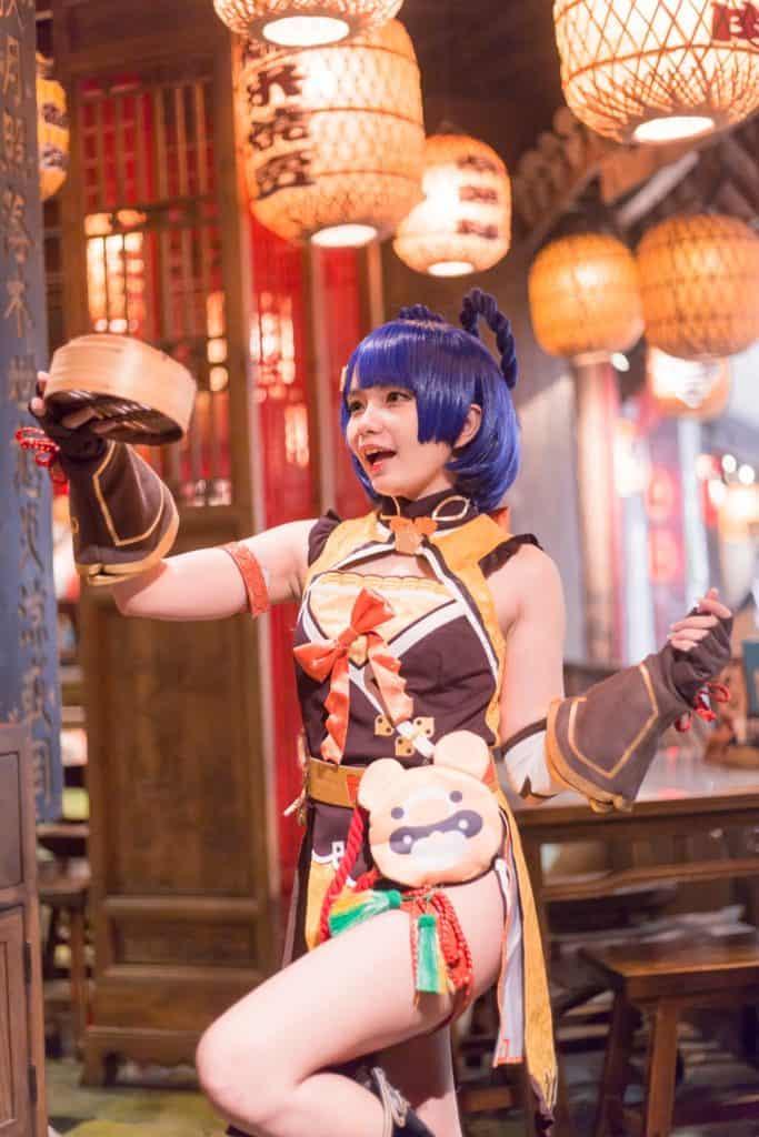 Xiangling (Genshin Impact cosplay)