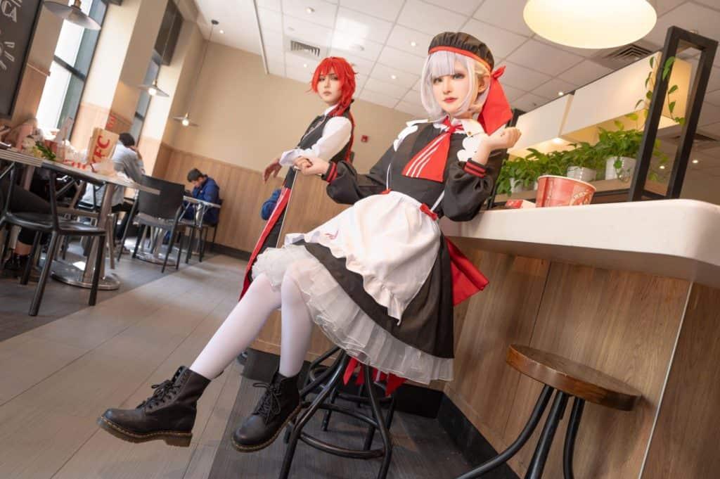 Noelle (Genshin Impact cosplay)