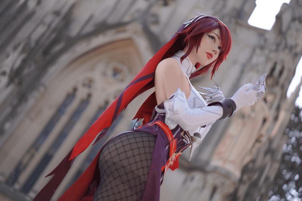 Rosaria (Genshin Impact cosplay)